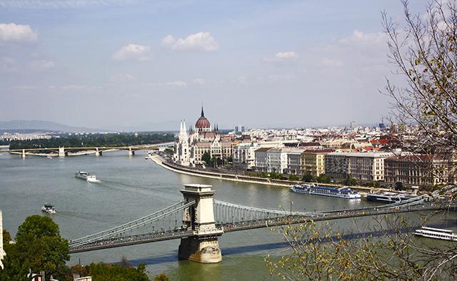 Budapest vistas Monte Géllert