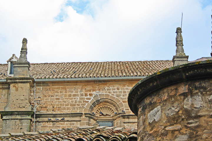 Tejados Iglesia San Juan Evangelista Antonio Machado Baeza