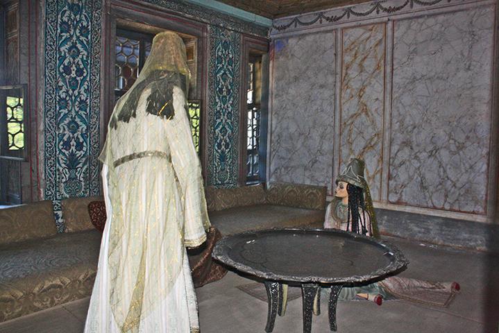 Mujeres harén Palacio Topkapi Estambul