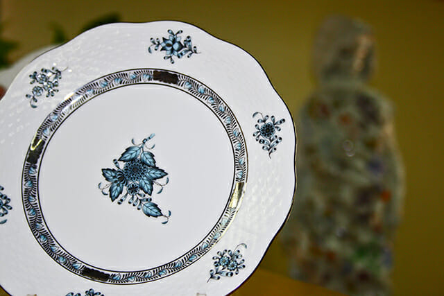 Plato porcelana Herend Hungría