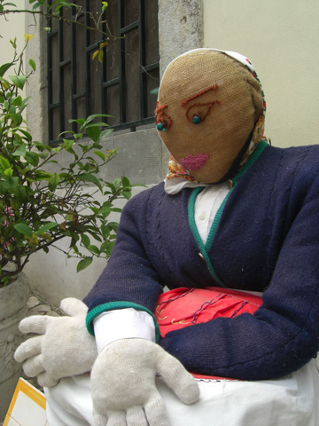 Muñeco trapo calles Sintra