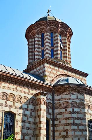 Monasterio ortodoxo Domneasca centro de Bucarest
