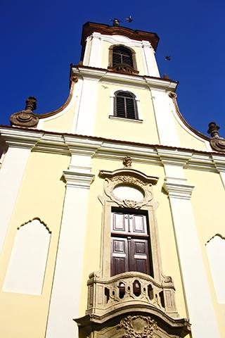 Iglesia barroca Blagovestenska Szentendre Hungría