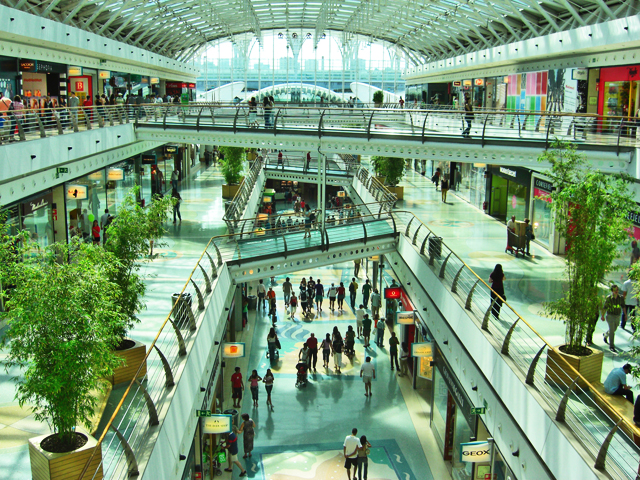 Interior Centro Comercial Vasco da Gamma Lisboa