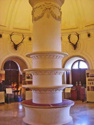 Interior sala cocinas y chimeneas Palacio da Pena Sintra