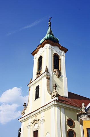 Iglesia Blagovestenska barroco Szentendre Hungría