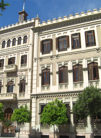 Fachada Antiguo Colegio de Teólogos de San Isidro Murcia
