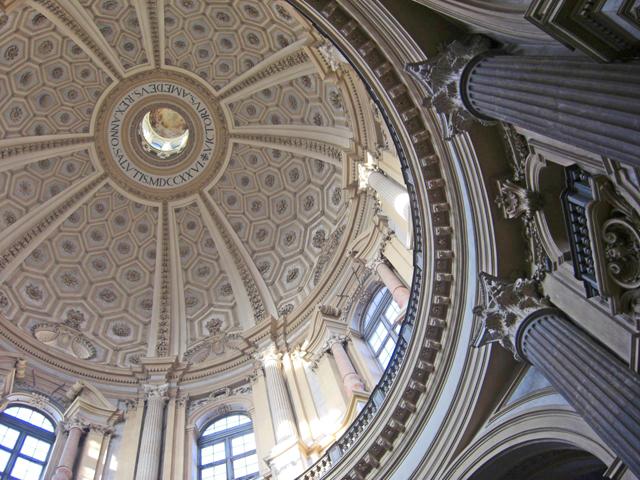Interior Basílica Superga Turín
