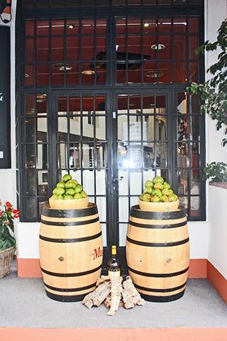 Barriles tomates verdes huerta Murcia
