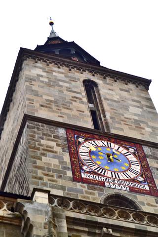 Torre Iglesia Negra Brasov Transilvania Rumanía