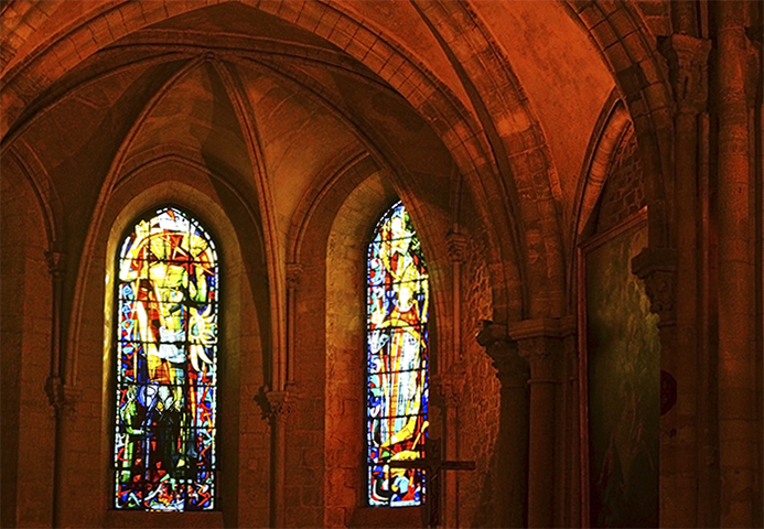 Vidrieras Iglesia St-Pierre-de-Montmartre París