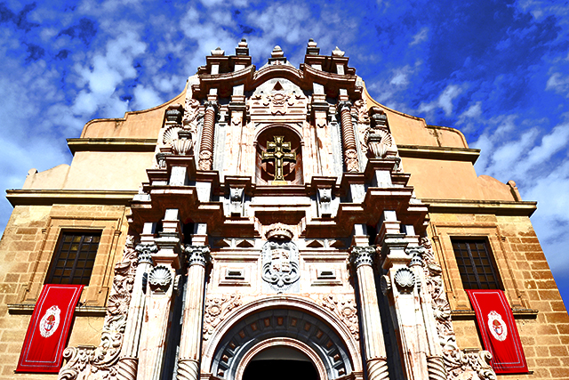 Fachada Basílica Santuario Caravaca de la Cruz Murcia