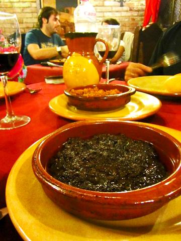 Caldereta restaurante plato típico Úbeda Jaén