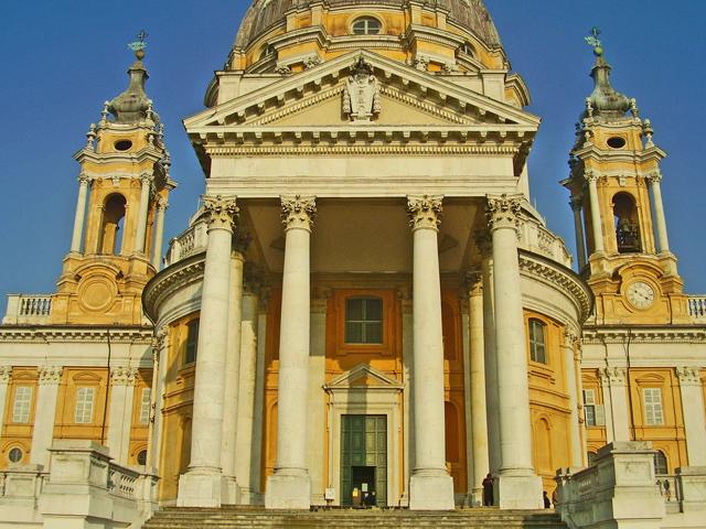 Entrada Basílica Superga Turín