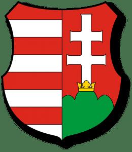Mapa Magyar Hungría