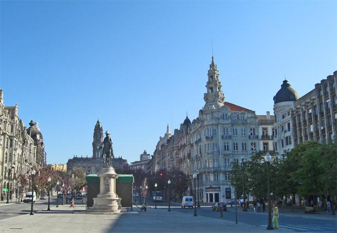 Plaza del Municipio Ayuntamiento Oporto