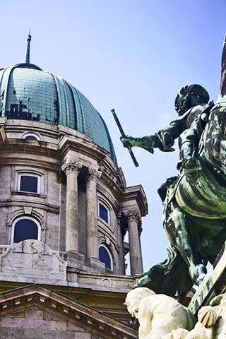 Eugenio de Saboya Budapest estatua caballo