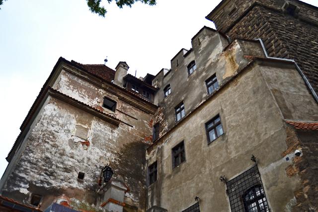 Lado oeste Castillo Bran Drácula Rumanía
