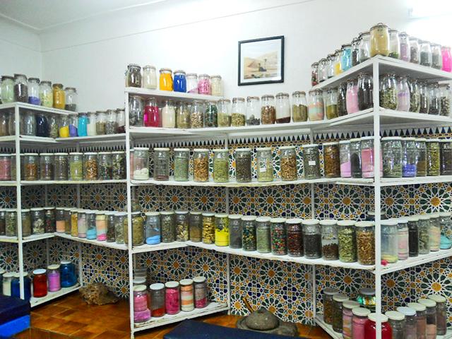 Tarros 100000 especias farmacia medicina medina Marrakech