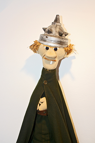 Marioneta Museo porcelana Herend Hungría
