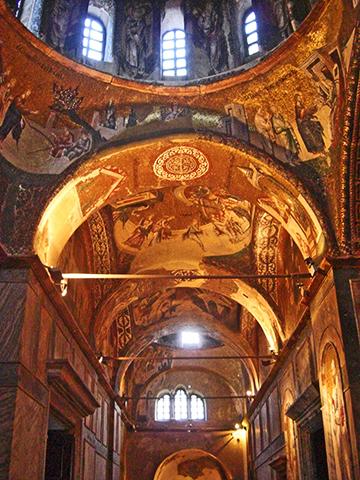 Mosaicos techos Iglesia de San Salvador de Cora Estambul
