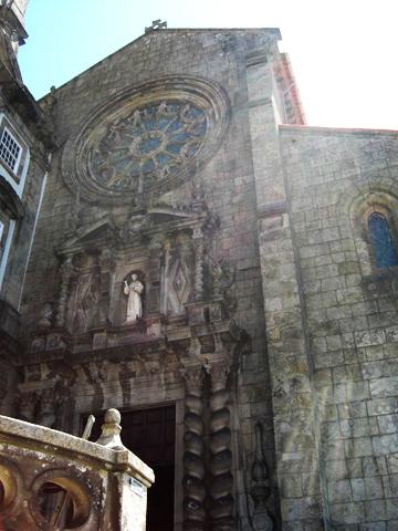 Iglesia San Francisco siglo XIV Oporto