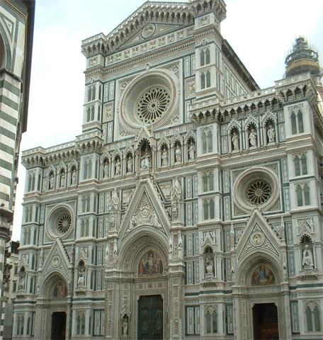 Fachada Catedral Santa María del Fiore Duomo Florencia