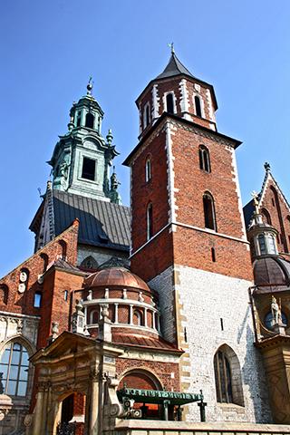 Torre Catedral castillo Wawel Cracovia
