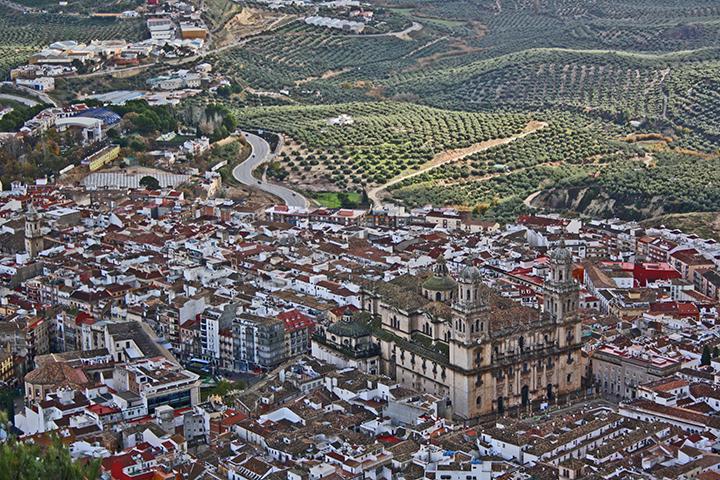 Vistas Catedral Jaén Castillo Santa Catalina