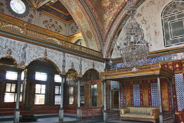 Harén laberinto decoración interior Palacio Topkapi Estambul