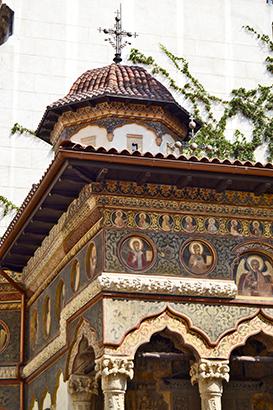 Exterior fachada Monasterio Stavropoleos Bucarest
