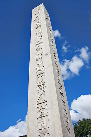 Obelisco Teodosio jeroglíficos Estambul