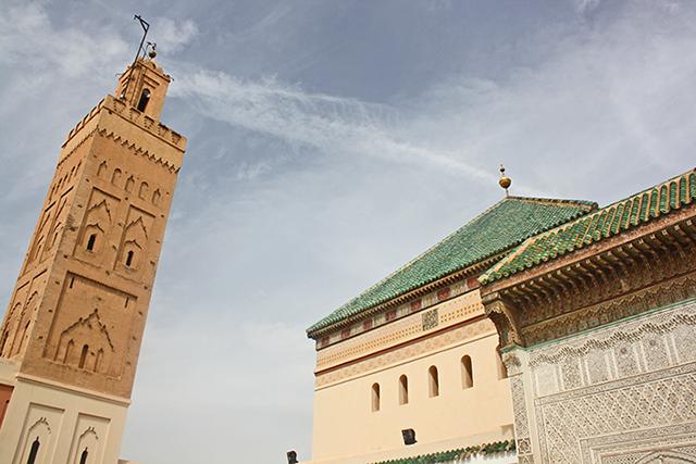 Sidi Bel Abbes Zaouia Mosquee de la Kasbah Marrakech