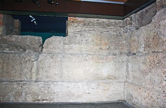 Muralla árabe Santa Eulalia Murcia