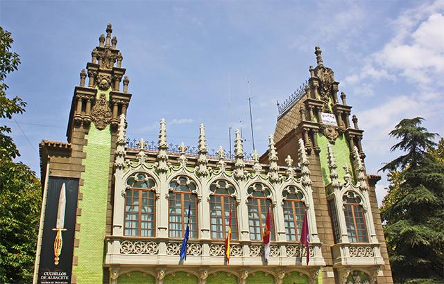 Fachada modernista Museo Cuchillería Albacete
