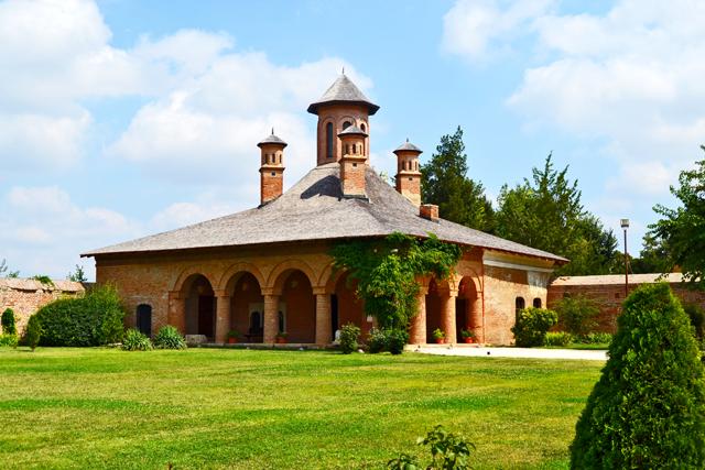 Palacio religioso jardín Mogosoaia Rumanía