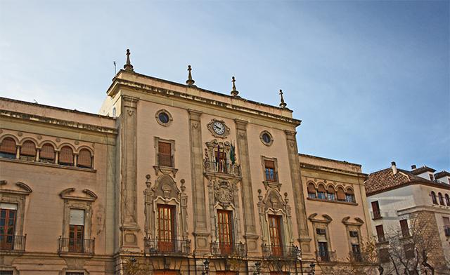Palacio Episcopal Plaza de Santa María Jaén