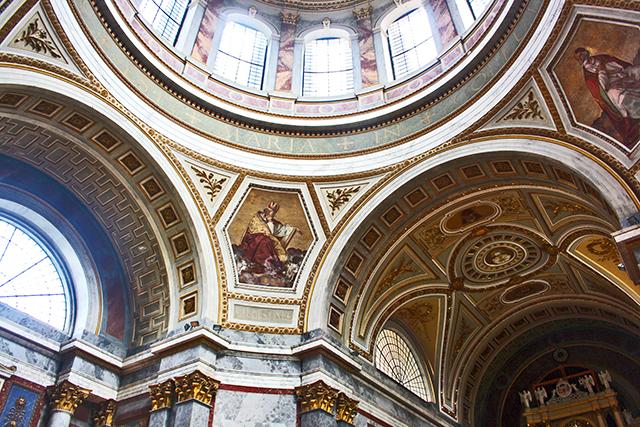Cúpula y frescos Basílica Esztergom