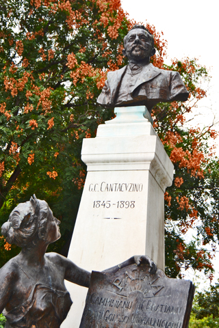 Estatua G.C. Cantacvzino Bucarest