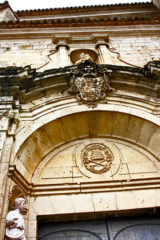 Fachada Iglesia San Pedro siglo XV Cuenca