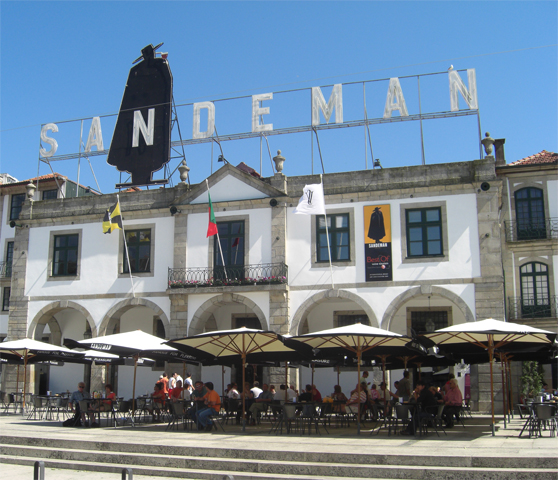 Fachada Sandeman vinos Oporto Vila Nova de Gaia