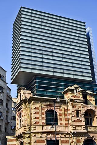 Colegio de arquitectura edificio partido Bucarest