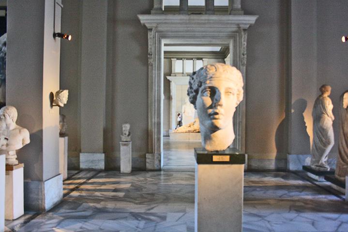 Busto romano Museo Arqueológico Estambul