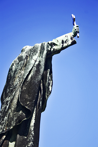 Estatua Gellért Monte Budapest