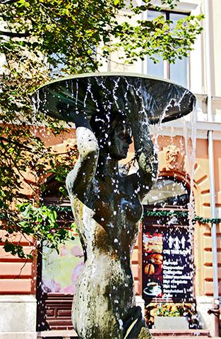Fuente Tarnok Plaza de la Santísima Trinidad