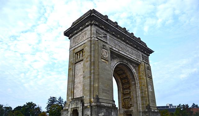 Arco de triunfo lateral Bucarest
