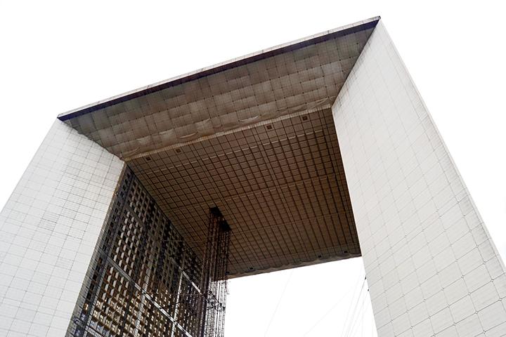 Contrapicado Gran Arco La Défense Otto von Spreckelsen París