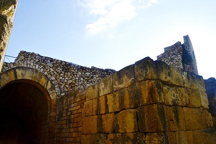 Restos Circo romano piedras Tarragona Tarraco Patrimonio Humanidad