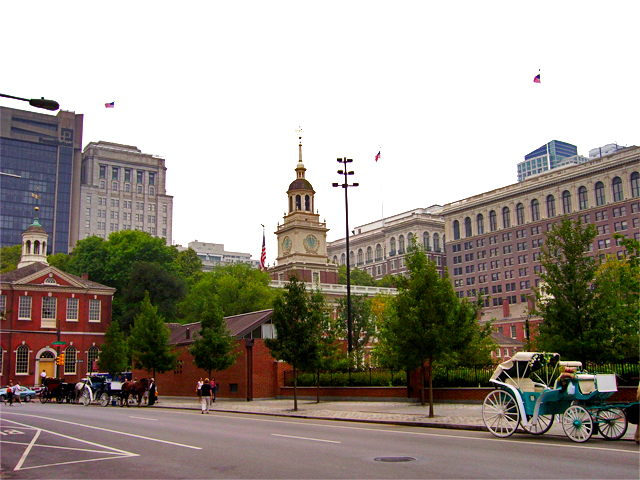 Philadephia City Hall Square