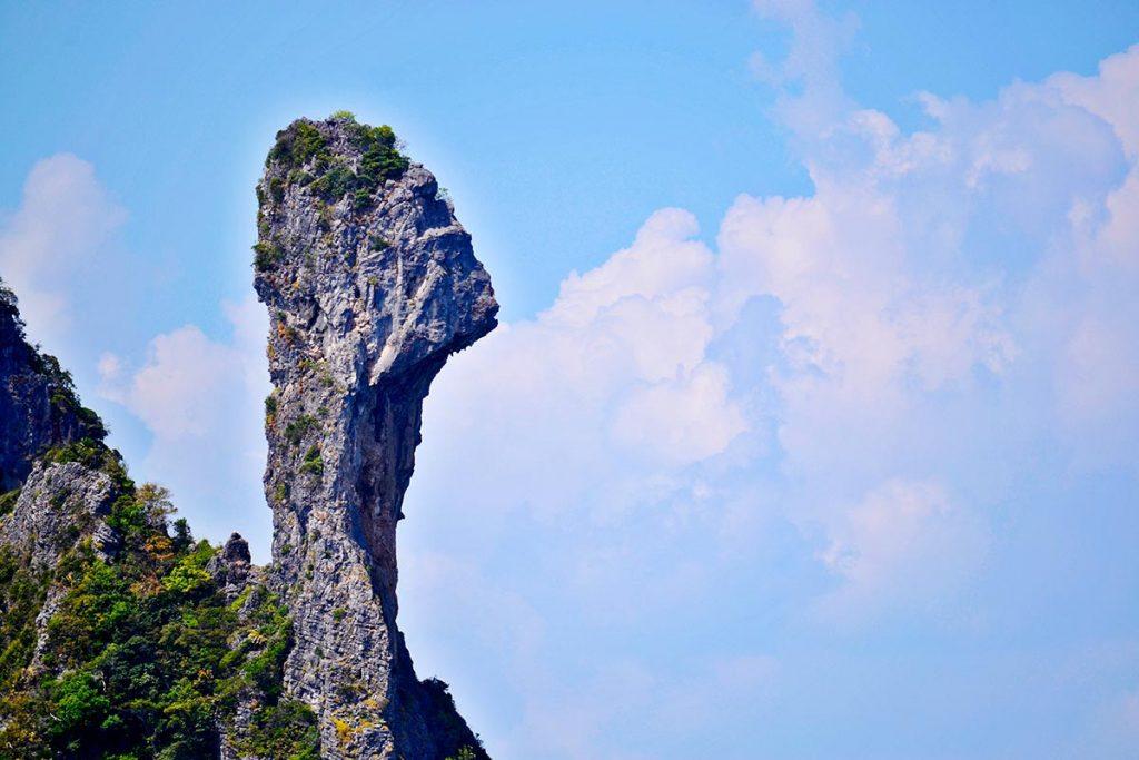Cabeza pollo roca Chicken Island Krabi